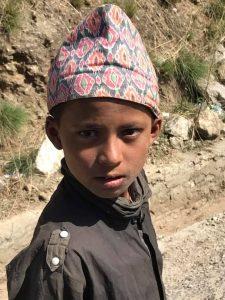 Boy on road - Jumla